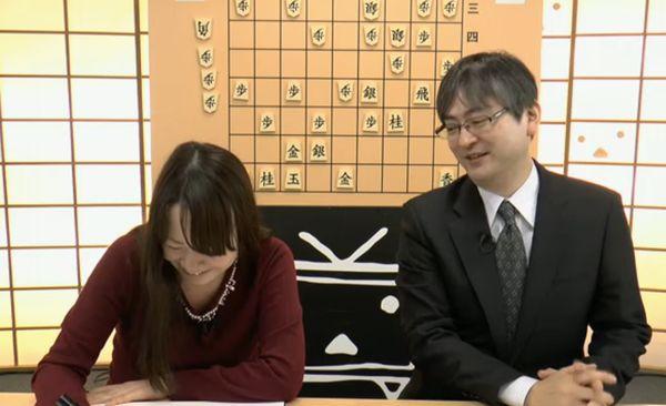 藤田綾画伯と郷田さん