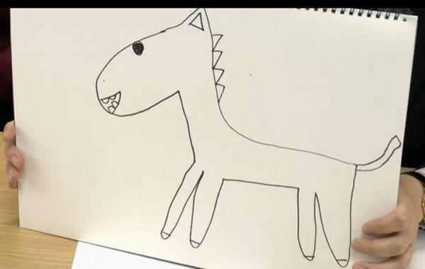 藤田綾画伯の馬