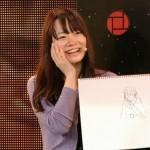 藤田綾画伯が新作「考える人」を発表