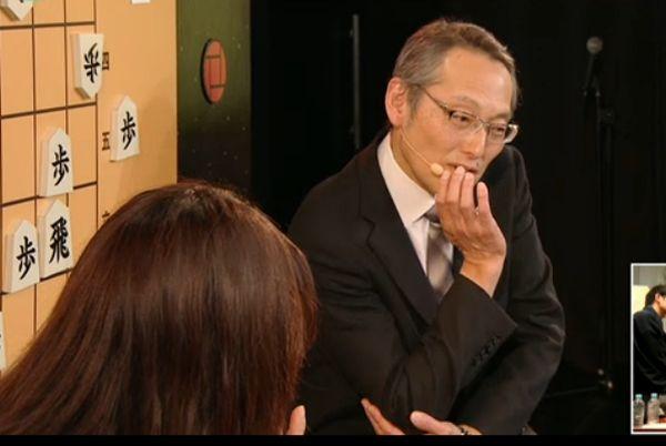 お題は田中寅彦さんが「考える人」に決定