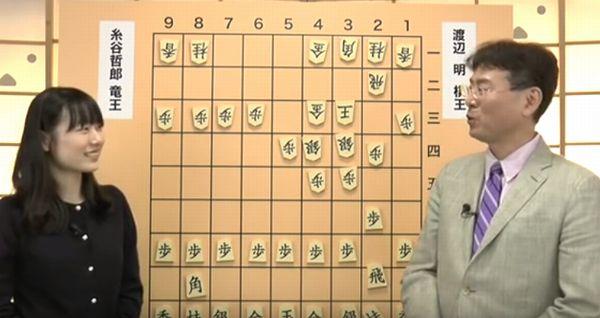 棋士の塚田親子